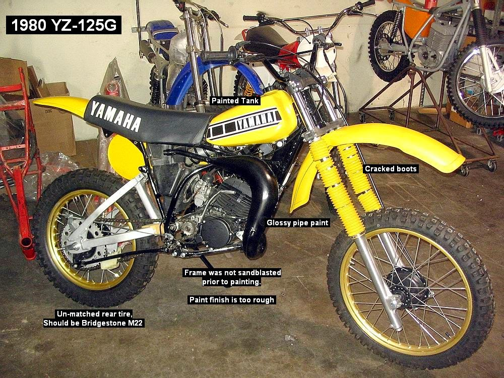 OLD S'CooL MX: How NOT to Restore a Vintage MX Bike!