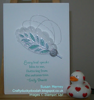 #lovemyjob, Craftyduckydoodah!, Rooted In Nature, SBTD Blog Hop, Stampin' Up! UK Independent  Demonstrator Susan Simpson, Supplies available 24/7 from my online store,