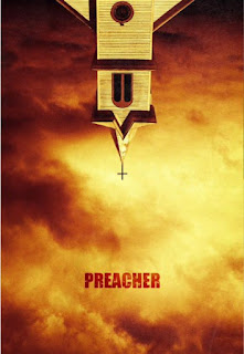 """primer póster de """"Predicador"""" (Preacher)."""