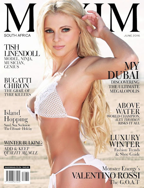 Tae Kwan - Maxim South Africa, June 2016