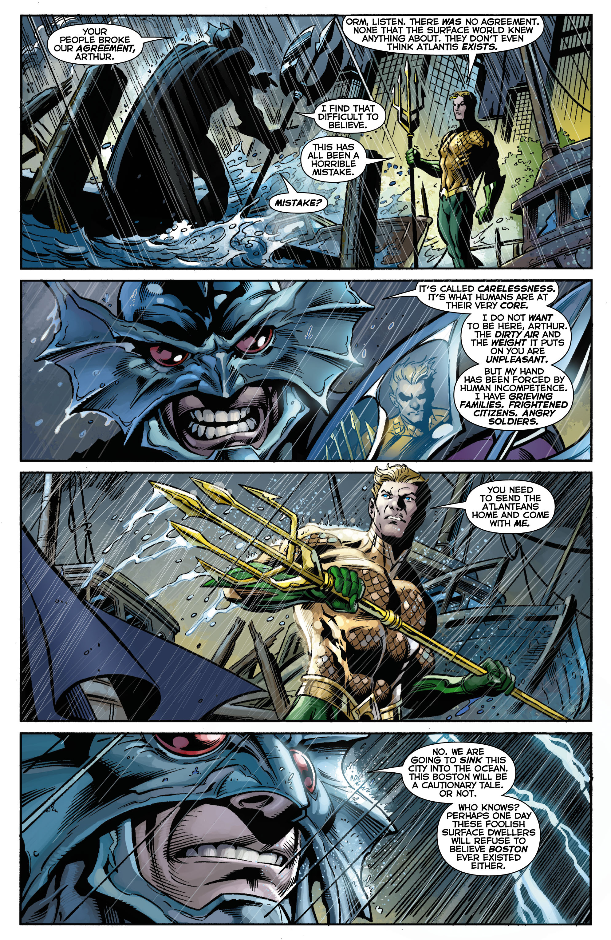 Read online Aquaman (2011) comic -  Issue #15 - 21