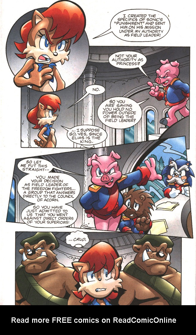 Read online Sonic The Hedgehog comic -  Issue #197 - 10