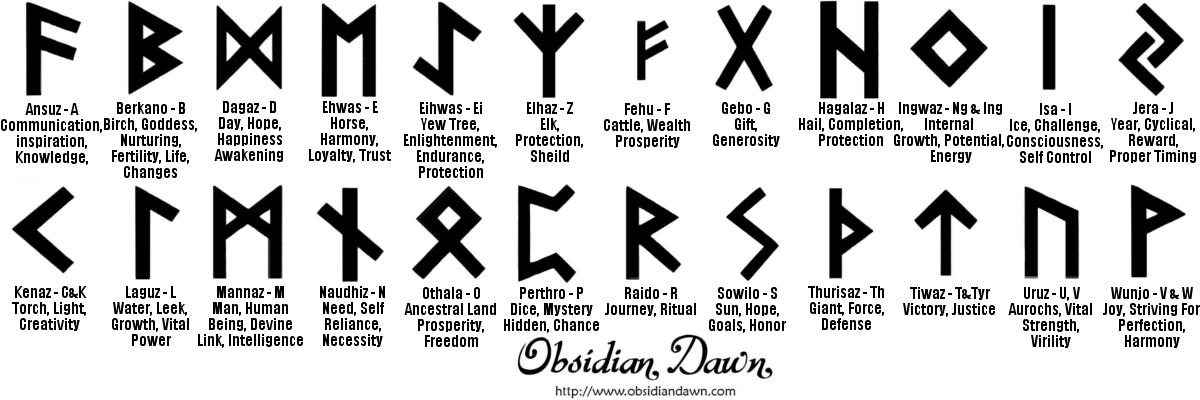 My Sims 3 Blog Norse Runes Tattoos By Shiftclickdelete