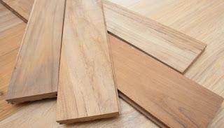 lantai jati kayu