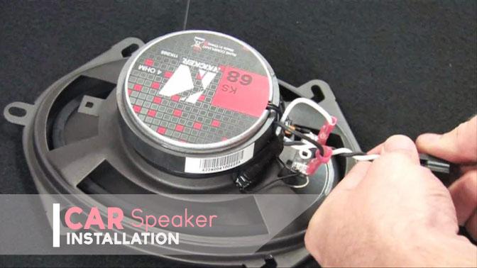 car speaker installation
