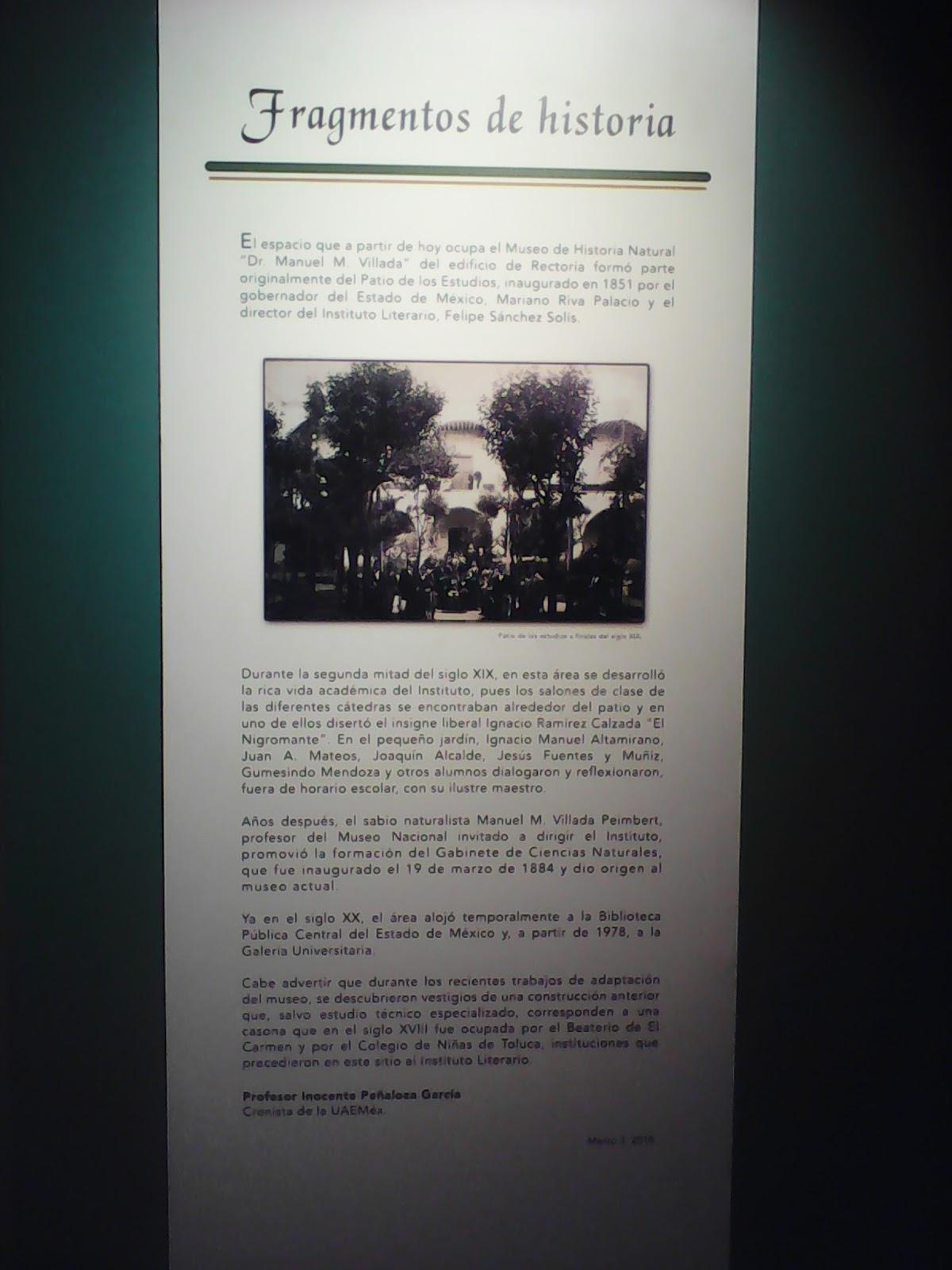 11b86e668 Museo de Historia Natural Dr. Manuel M. Villada