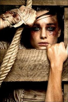 mujer golpeada maltrato violencia genero
