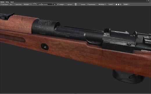 Arma3用チェコスロバキア軍MODにvz.33小銃