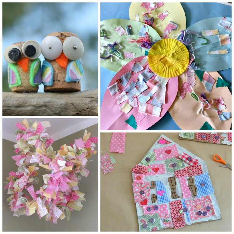 Fabric Scrap Crafts And Activities For Kids | What Can We Do