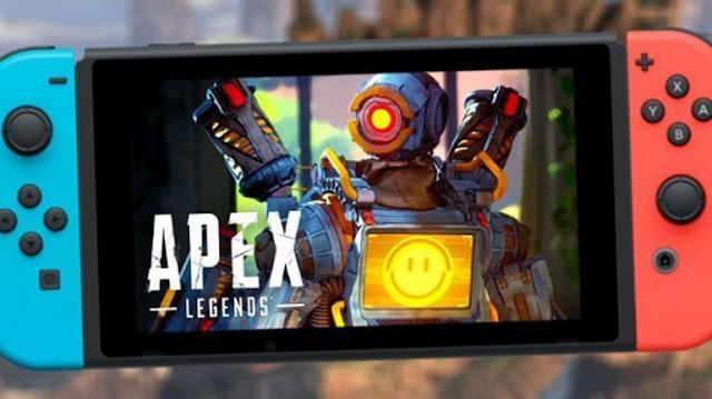 Apex Legends está por llegar a nintendo en Switch