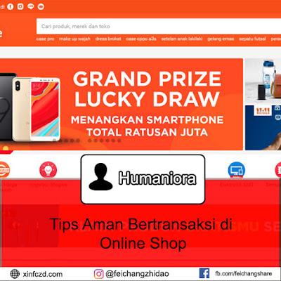 Tips Aman Bertransaksi di Online Shop