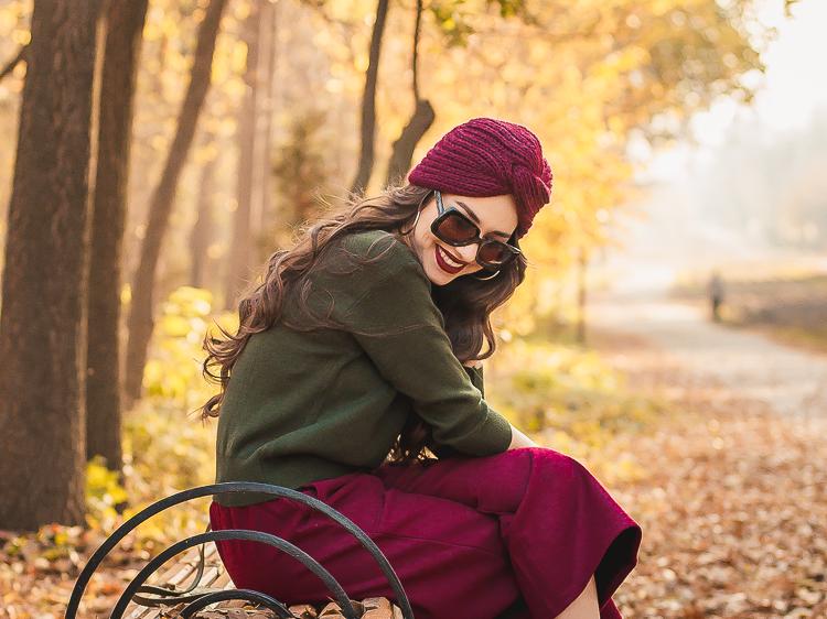 fashion blogger diyorasnotes autumn shein outfit marsala culottes khaki jumper asos%2B%25288%2B%25D0%25B8%25D0%25B7%2B9%2529 - HOW I WEAR TURBAN