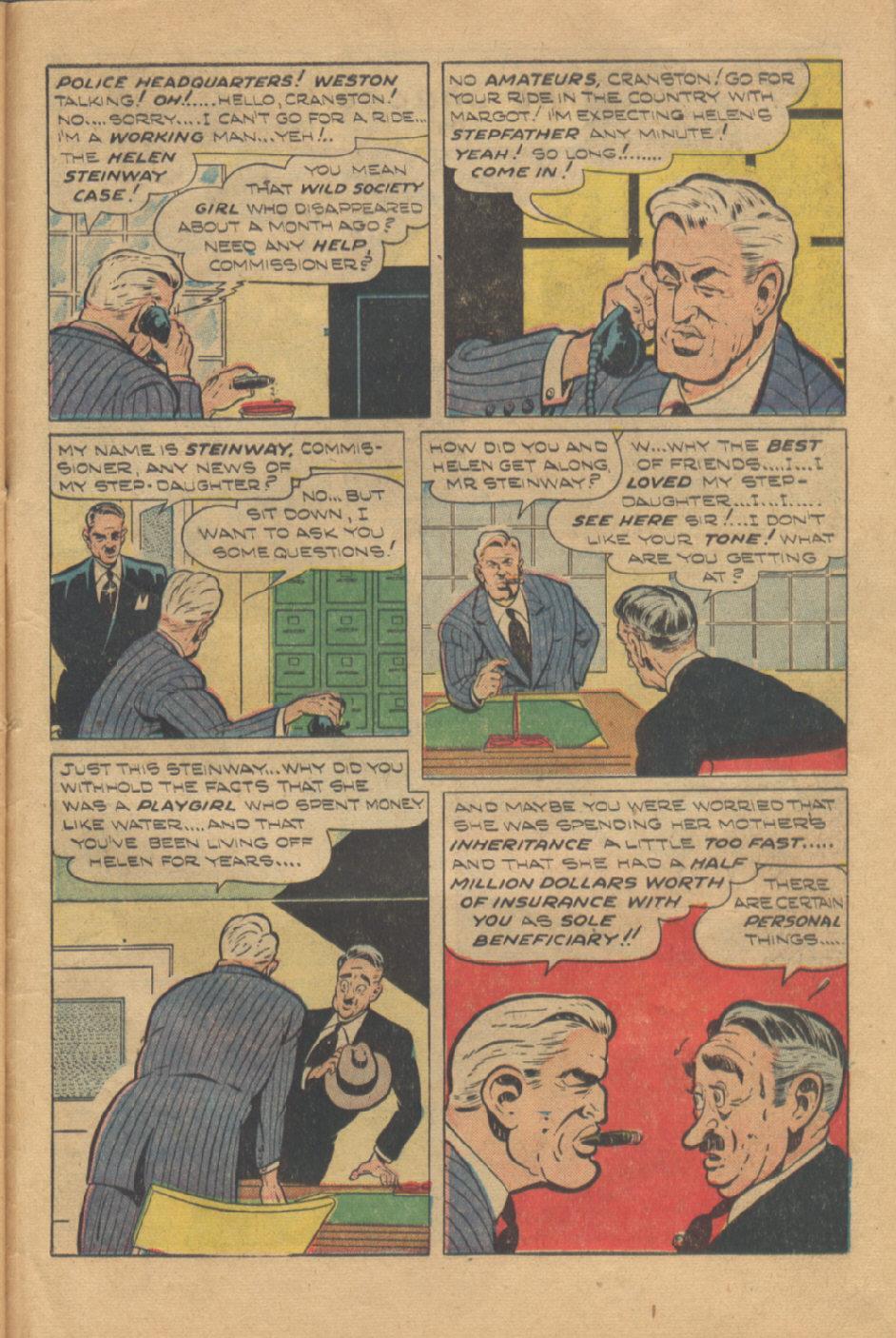 Read online Shadow Comics comic -  Issue #95 - 43