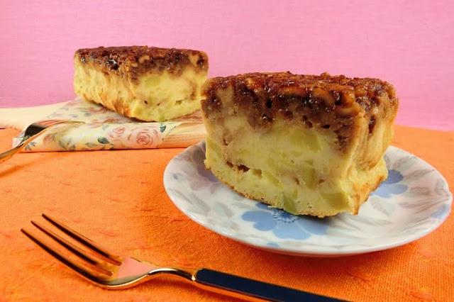 トースターで焼く!スイートポテトのキャラメリゼケーキは簡単!