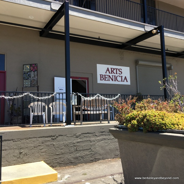 exterior of Arts Benicia gallery in Benicia, California