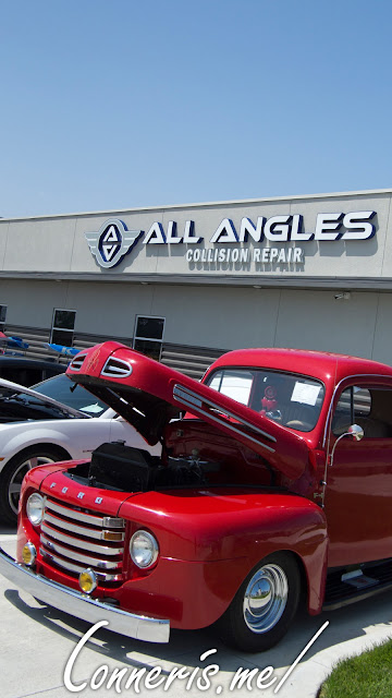 All Angles Collision Repair Northeast Grand Opening Car Show Venue