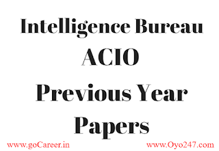 IB ACIO Previous Papers