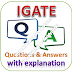 IGATE Written Test: Aptitude, Reasoning, English; Questions and Answers with Explanations PDFs