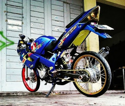 Top modifikasi cbr 150 old