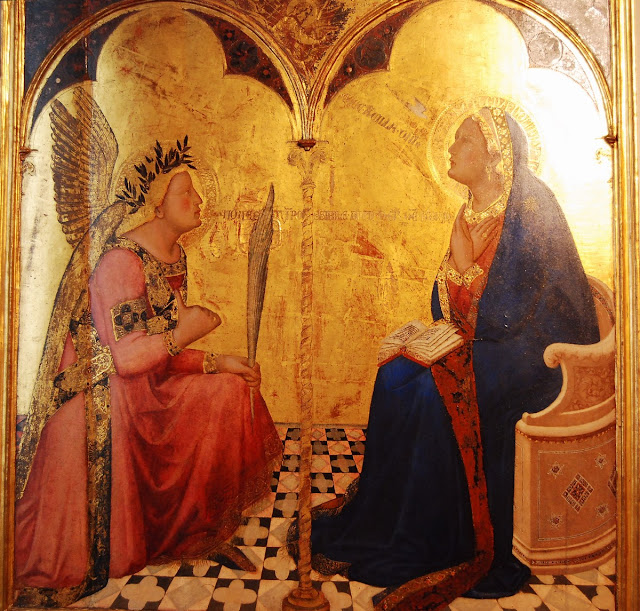 Annonciation, Ambrogio Lorenzetti (1344)