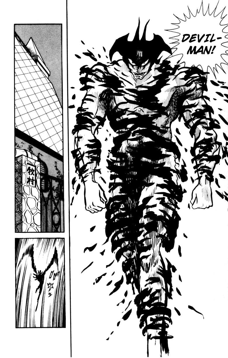 DevilMan chapter 18 trang 15
