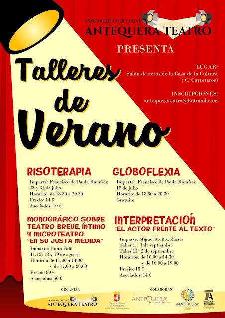 Talleres de Teatro en Antequera