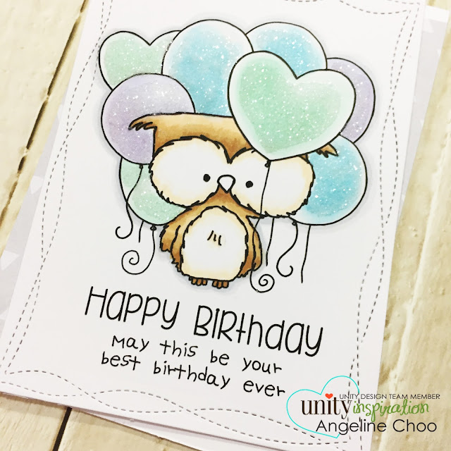 ScrappyScrappy: [NEW VIDEOS] New Planner Gals & Birthday Balloons with Unity Stamp #scrappyscrappy #unitystampco #card #cardmaking #papercraft #happybirthday #timholtz #copic #glitter #distressstickles #clearrockcandy #timholtz #quicktipvideo #birthdayballoon #ginamariedesigns