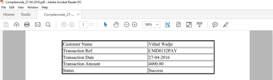Convert HTML To PDF Using Aspose PDF In ASP NET MVC 5