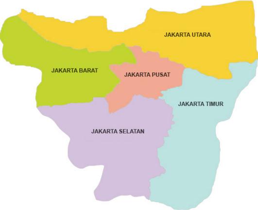 Kode Pos Jakarta Pusat | Daftar Kode Pos Lengkap