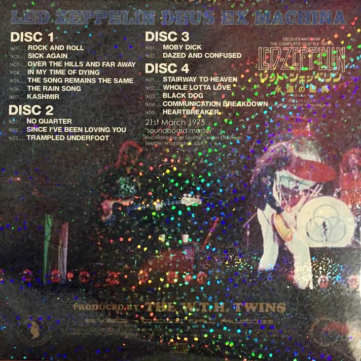 Long Live Led Zeppelin: 1975 03 21 Led Zeppelin Seattle WA