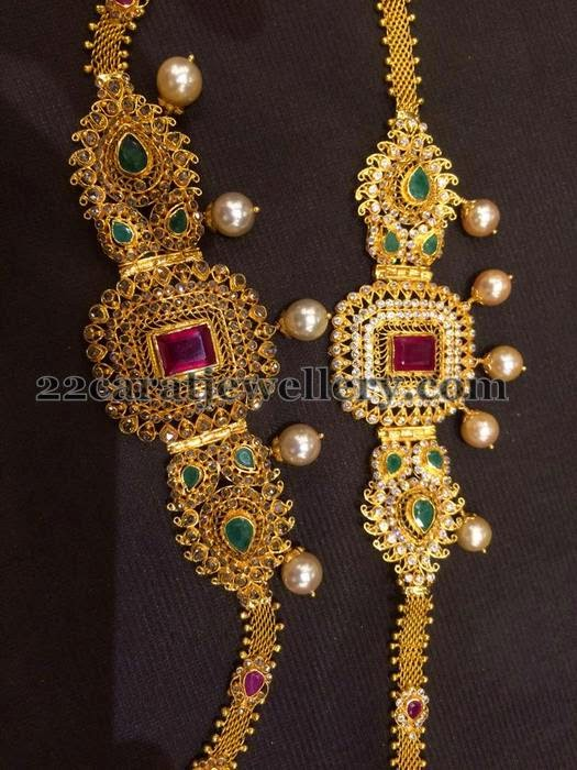 35 Grams Uncut 2 In 1 Armband Jewellery Designs