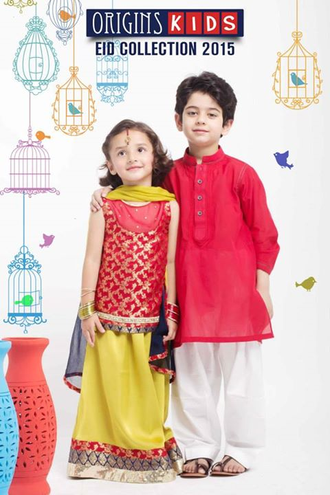 Origins Kids Eid Collection 2015 For Little Boys And Girls