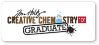Graduate of  Tim Holtz Creative Chemistry