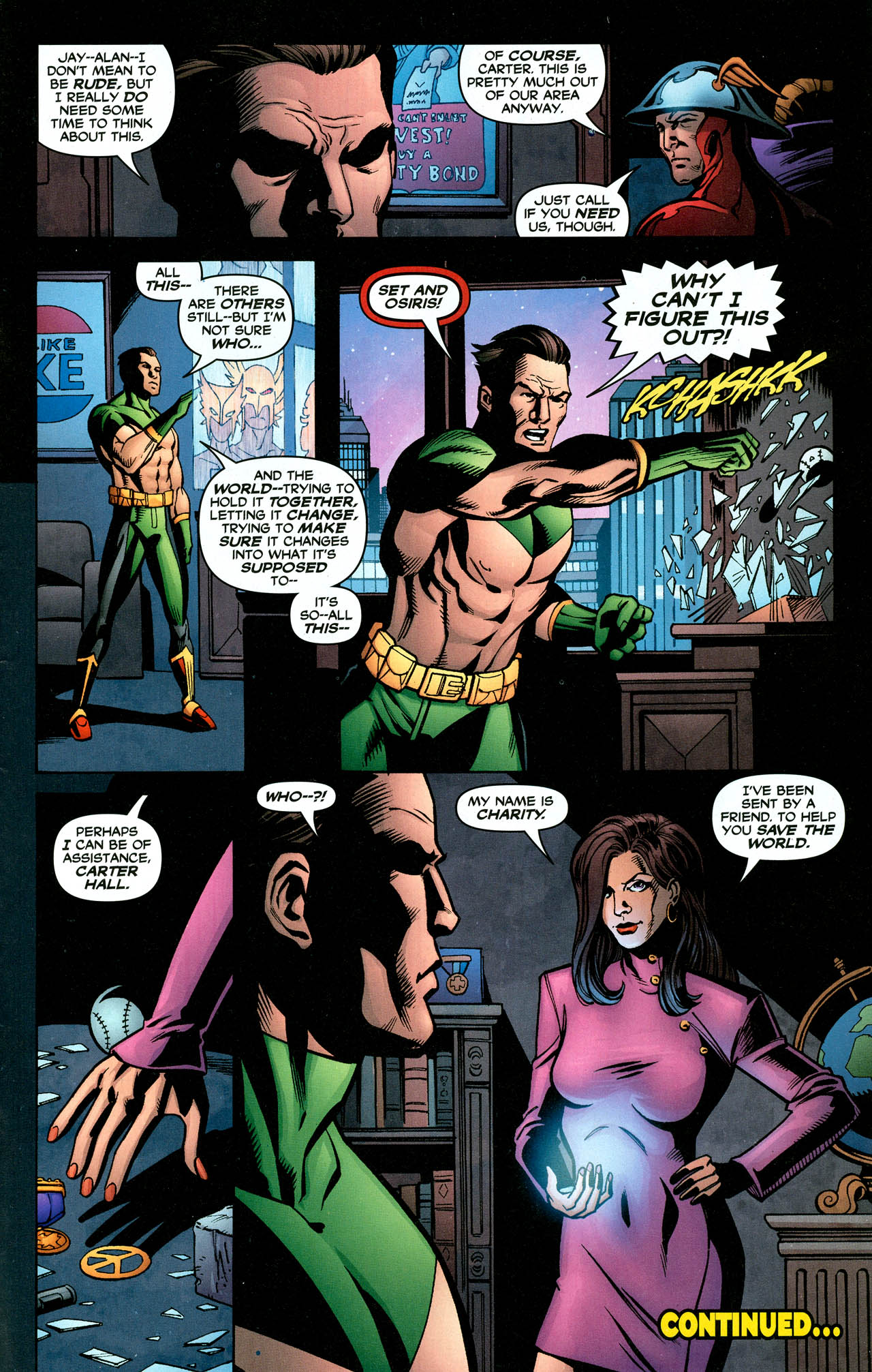 Read online Trinity (2008) comic -  Issue #30 - 34