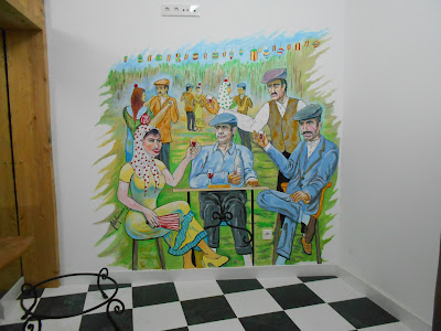 Mural en restaurante