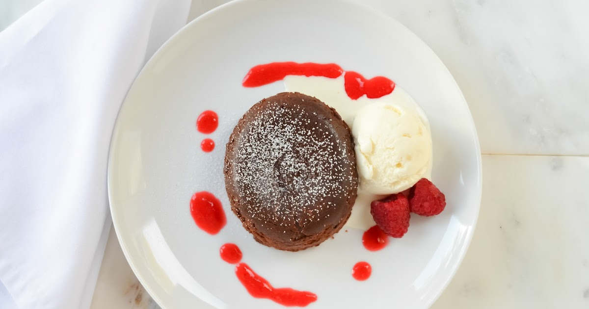 How To Make Chocolate Molten Lava Cake From Scratch