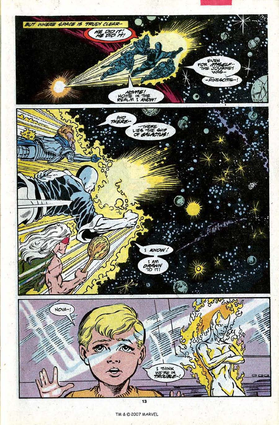 Read online Silver Surfer (1987) comic -  Issue #17 - 15