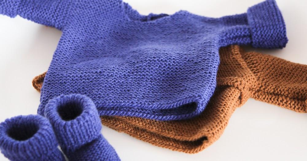 les tricots de granny pull naissance. Black Bedroom Furniture Sets. Home Design Ideas