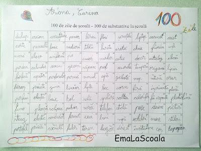 idei pentru 100 de zile de scoala
