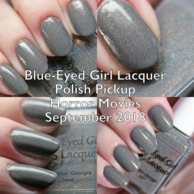 Blue-Eyed Girl Lacquer Polish Pickup Horror Movies September 2018