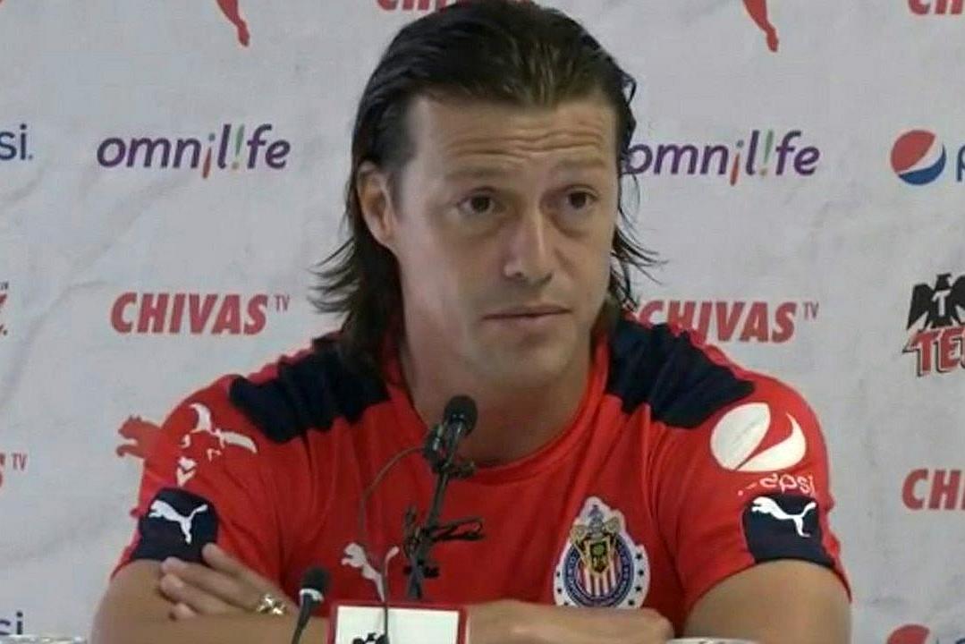 El técnico del Guadalajara, Matías Almeyda.