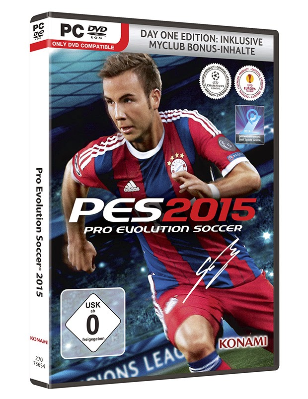 PES 2015 Cover