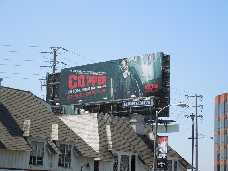 Copper BBC billboard