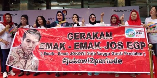 JOS EGP Dukung Jokowi: Emak-emak Sebelah Ngeluh Ekonomi Tapi Pakai Cincin Emas