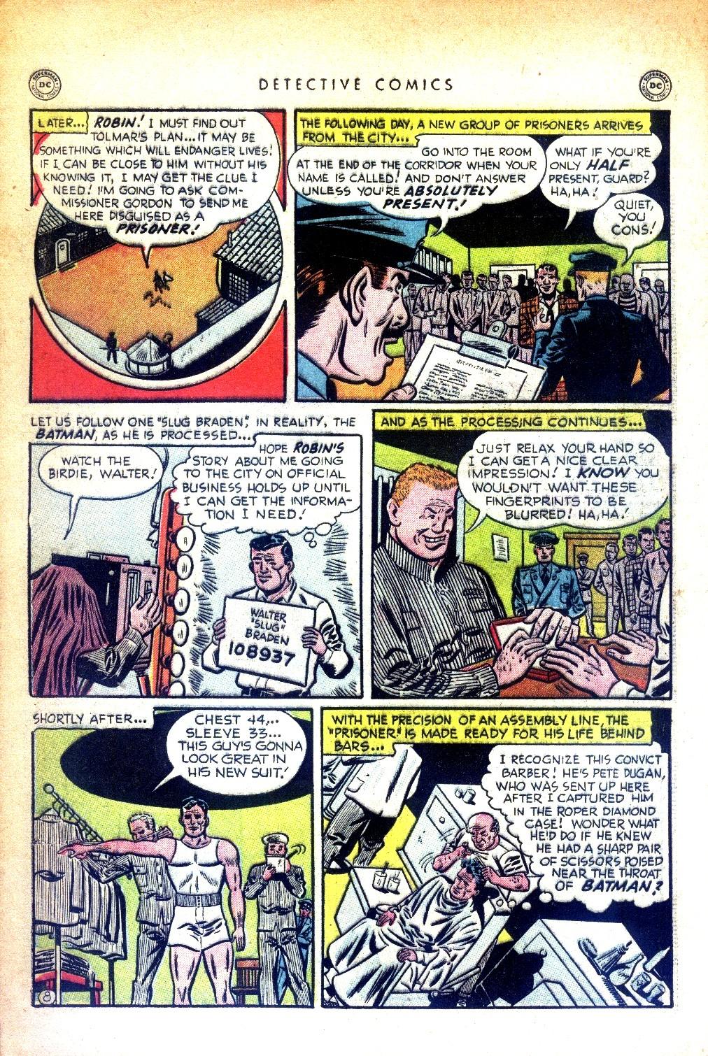Read online Detective Comics (1937) comic -  Issue #169 - 10