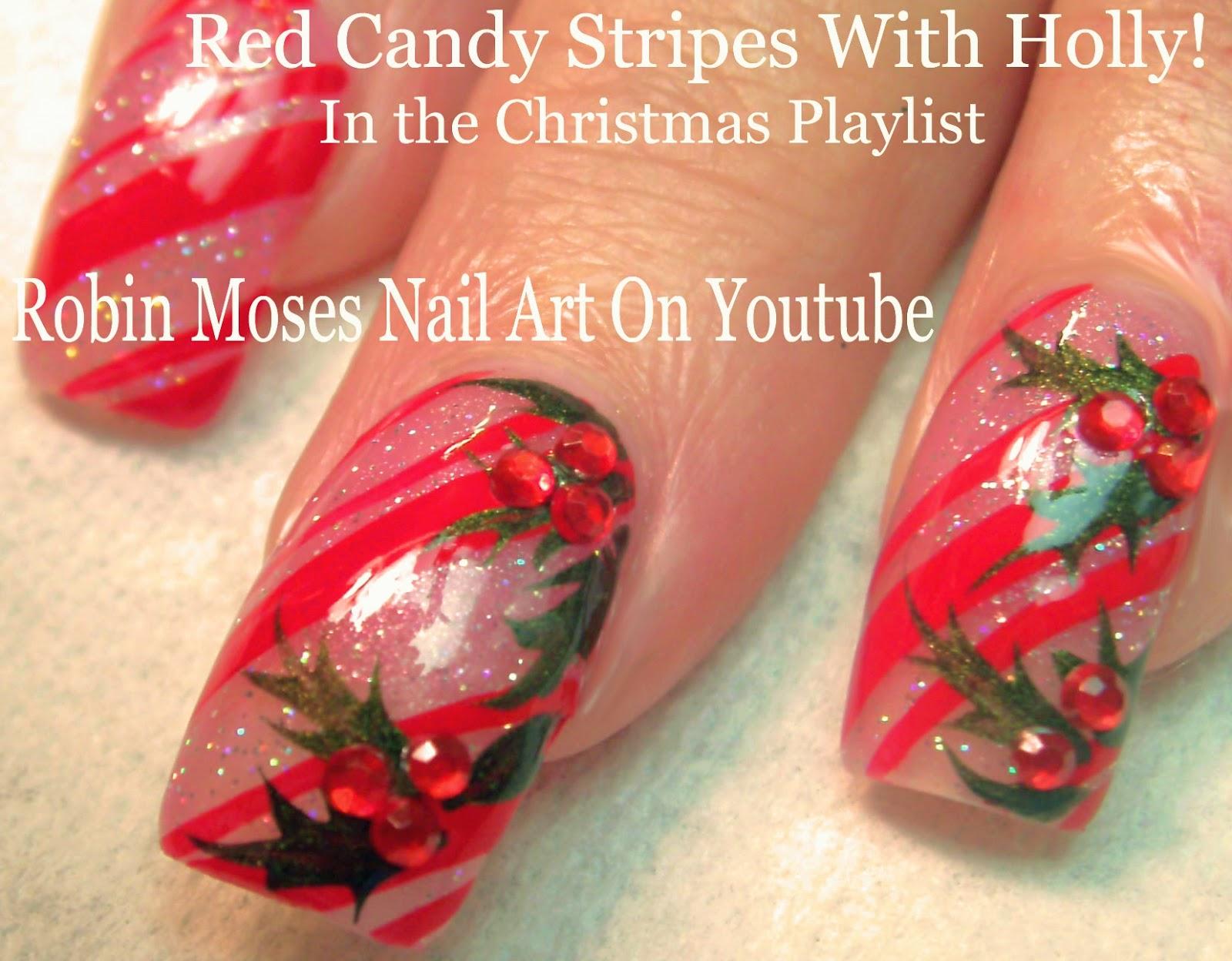 Robin Moses Nail Art: Christmas Nails! 2 Fun New Designs ...