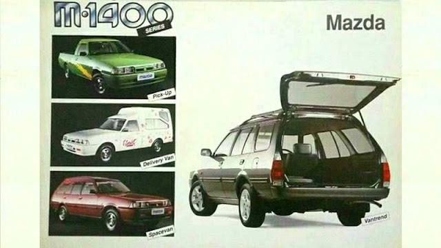 Jenis varian Mazda Vantrend