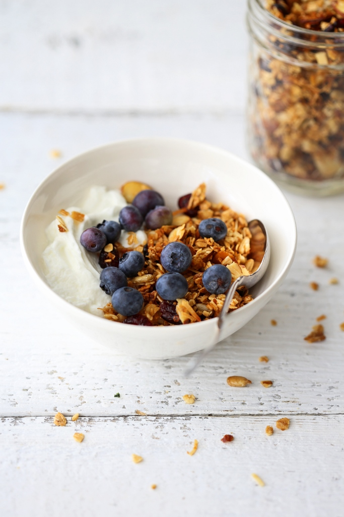 how to eat blueberries for breakfast