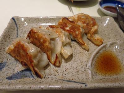 Keria Japanese Restaurant, gyoza