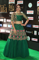 Nandita Swetha in a tight Green Choli Ghagra at IIFA Utsavam Awards March 2017 ~ 084.JPG